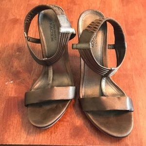 Kenneth Cole Reaction bronze gold sandals